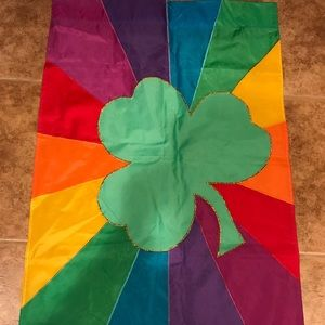 Other - Outdoor flag St. Patrick's Day theme